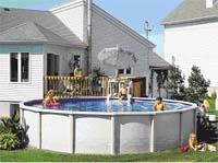 Prinzie sanitair for Stalen zwembad inbouwen